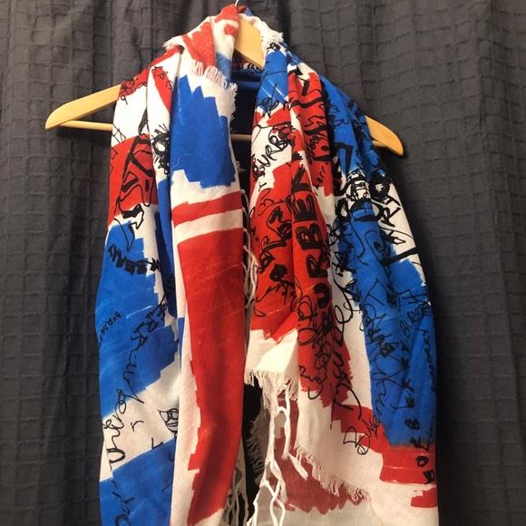 Burberry Union Jack scarf 🇬🇧